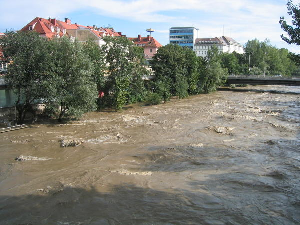 Murhochwasser in Graz am 23 August 2003